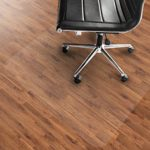 Office Marshal PVC Chair Mat for Hard Floors – 40″ x 48″ | Multiple Sizes Available | Clear, Multi-purpose Floor Protector