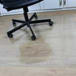 Office Desk Chair Mat for Hard Wood Floor Thick PVC Matte 48″ x 36″,Transparent Sturdy Chair Mat
