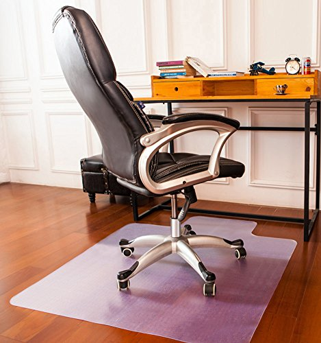 Mysuntown Office Chair Mat for Hardwood Floor, Anti-Slip Thin Desk Floor Protective Mats 36 x 48""